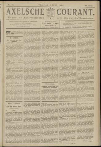 Axelsche Courant 1924-06-06
