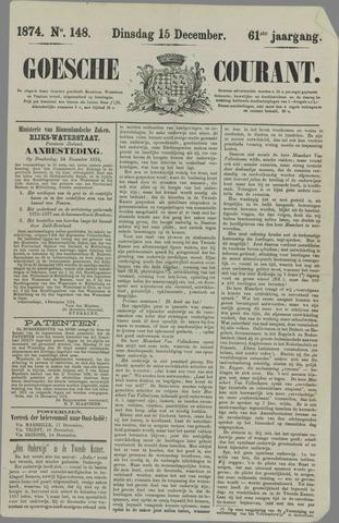 Goessche Courant 1874-12-15