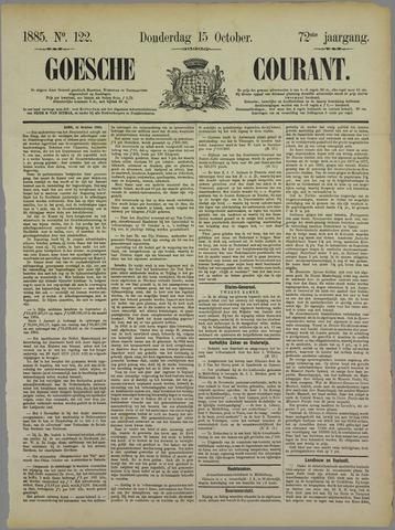 Goessche Courant 1885-10-15