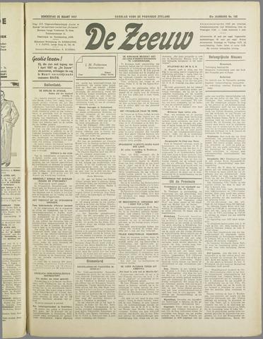 De Zeeuw. Christelijk-historisch nieuwsblad voor Zeeland 1937-03-25