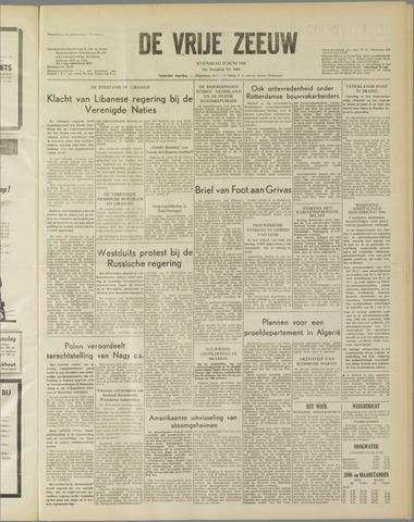 de Vrije Zeeuw 1958-06-25