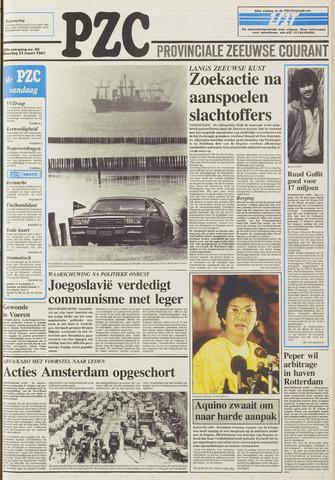 Provinciale Zeeuwse Courant 1987-03-23