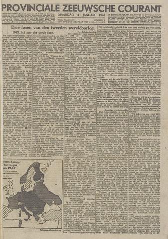 Provinciale Zeeuwse Courant 1943-01-04