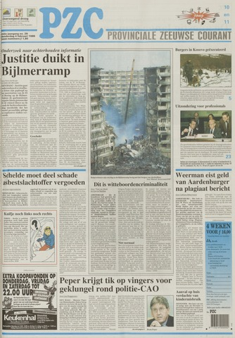 Provinciale Zeeuwse Courant 1999-02-04