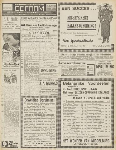 de Faam en de Faam/de Vlissinger 1939