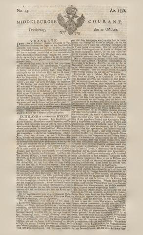 Middelburgsche Courant 1758-10-12