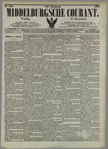 Middelburgsche Courant 1891-12-11