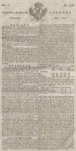 Middelburgsche Courant 1758-06-07