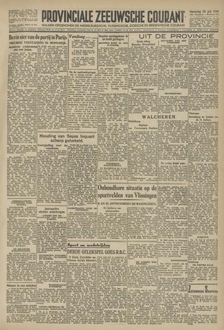 Provinciale Zeeuwse Courant 1946-07-29