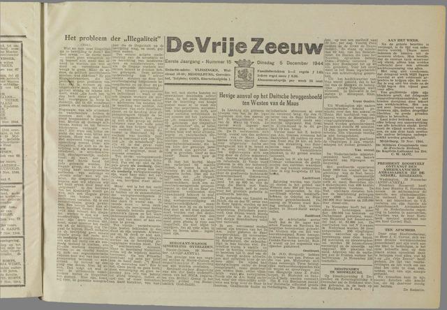 de Vrije Zeeuw 1944-12-05