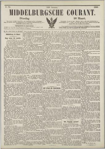 Middelburgsche Courant 1901-03-26