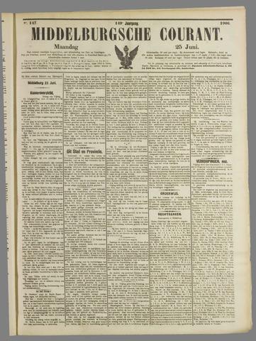 Middelburgsche Courant 1906-06-25