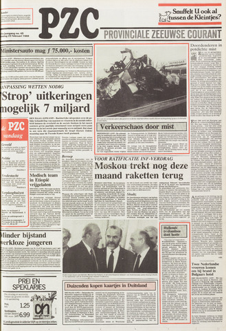 Provinciale Zeeuwse Courant 1988-02-23