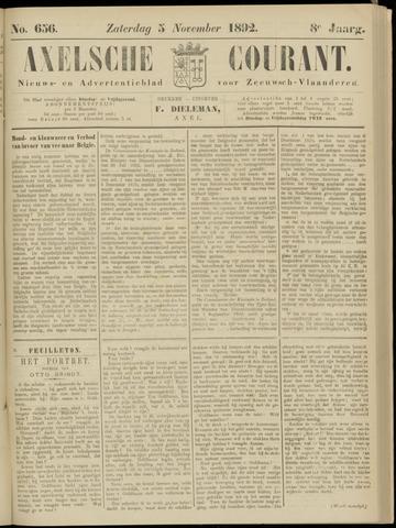 Axelsche Courant 1892-11-05