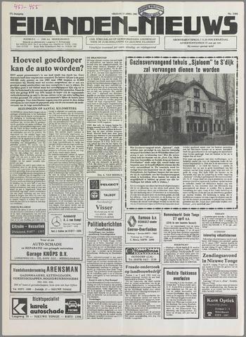 Eilanden-nieuws. Christelijk streekblad op gereformeerde grondslag 1985-04-12