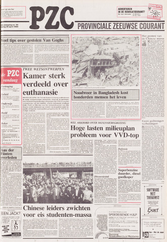 Provinciale Zeeuwse Courant 1989-04-28