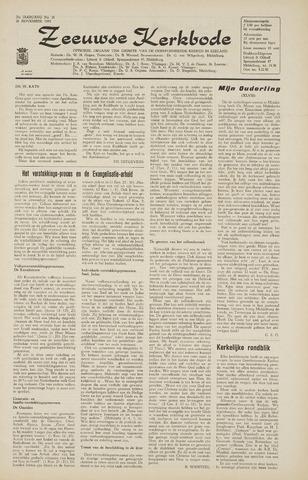 Zeeuwsche kerkbode, weekblad gewijd aan de belangen der gereformeerde kerken/ Zeeuwsch kerkblad 1965-11-26