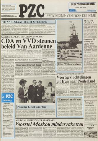 Provinciale Zeeuwse Courant 1985-09-04