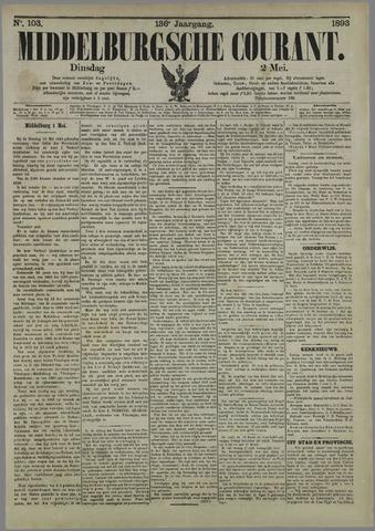 Middelburgsche Courant 1893-05-02