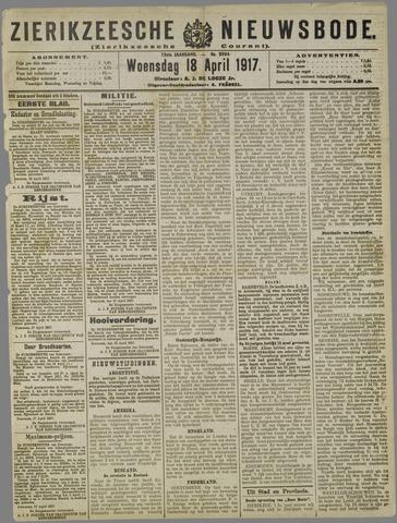 Zierikzeesche Nieuwsbode 1917-04-18