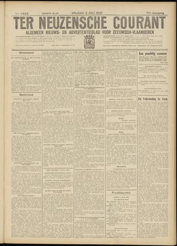 Ter Neuzensche Courant. Algemeen Nieuws- en Advertentieblad voor Zeeuwsch-Vlaanderen / Neuzensche Courant ... (idem) / (Algemeen) nieuws en advertentieblad voor Zeeuwsch-Vlaanderen 1937-07-02