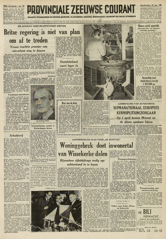 Provinciale Zeeuwse Courant 1956-01-19