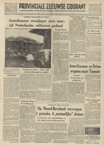 Provinciale Zeeuwse Courant 1957-11-15