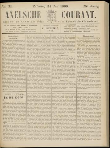 Axelsche Courant 1909-07-24