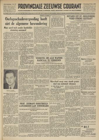 Provinciale Zeeuwse Courant 1950-02-08