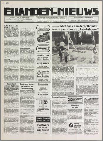 Eilanden-nieuws. Christelijk streekblad op gereformeerde grondslag 1989-08-18