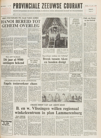Provinciale Zeeuwse Courant 1972-04-18