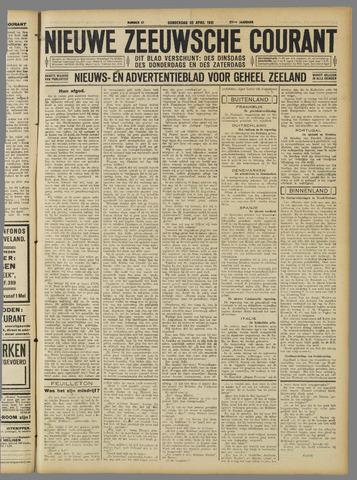 Nieuwe Zeeuwsche Courant 1931-04-30