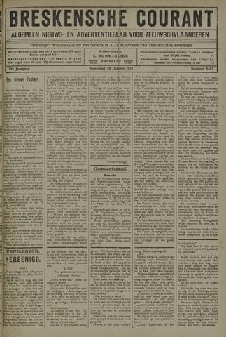 Breskensche Courant 1919-10-29