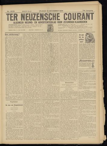 Ter Neuzensche Courant. Algemeen Nieuws- en Advertentieblad voor Zeeuwsch-Vlaanderen / Neuzensche Courant ... (idem) / (Algemeen) nieuws en advertentieblad voor Zeeuwsch-Vlaanderen 1934-12-14