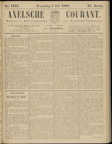 Axelsche Courant 1897-07-07