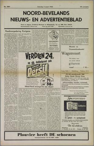 Noord-Bevelands Nieuws- en advertentieblad 1962-03-03