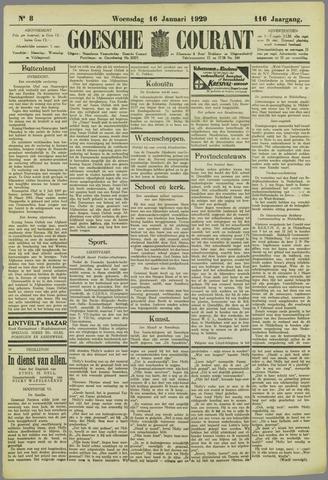 Goessche Courant 1929-01-16