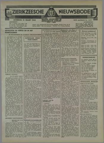 Zierikzeesche Nieuwsbode 1942-03-21