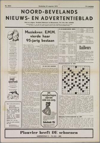 Noord-Bevelands Nieuws- en advertentieblad 1974-08-29