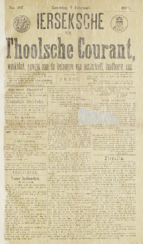 Ierseksche en Thoolsche Courant 1889-02-09
