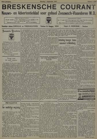 Breskensche Courant 1937-09-07