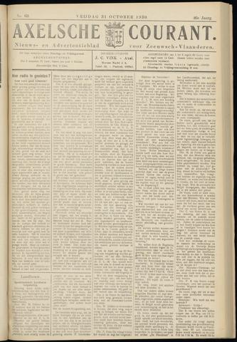 Axelsche Courant 1930-10-31