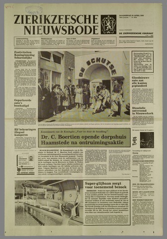 Zierikzeesche Nieuwsbode 1984-04-26