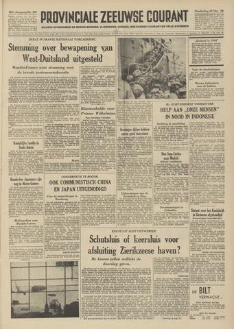 Provinciale Zeeuwse Courant 1954-12-30