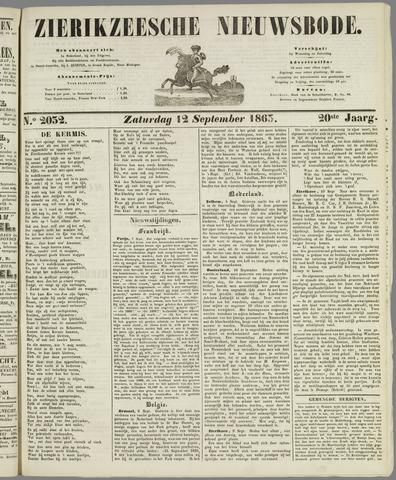 Zierikzeesche Nieuwsbode 1863-09-12