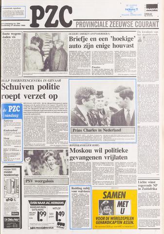 Provinciale Zeeuwse Courant 1988-10-27