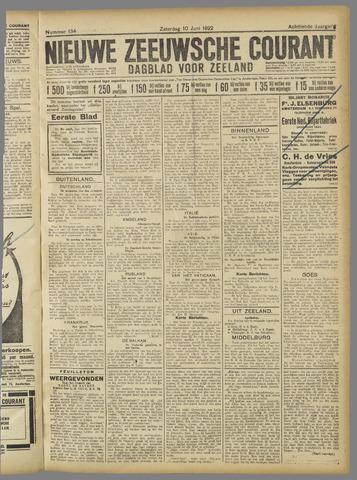 Nieuwe Zeeuwsche Courant 1922-06-10
