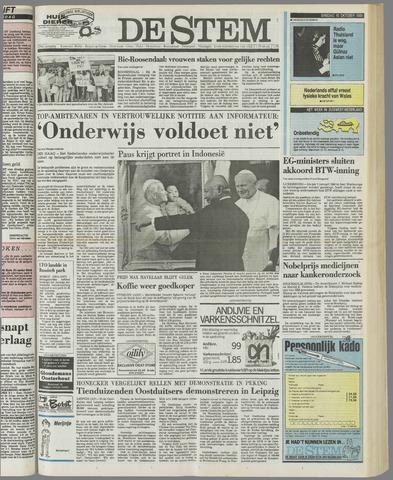 de Stem 1989-10-10