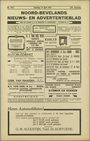 Noord-Bevelands Nieuws- en advertentieblad 1937-04-10