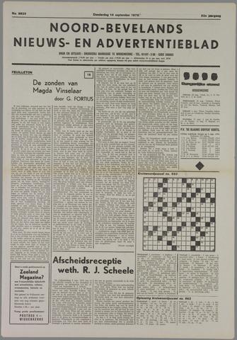 Noord-Bevelands Nieuws- en advertentieblad 1978-09-14